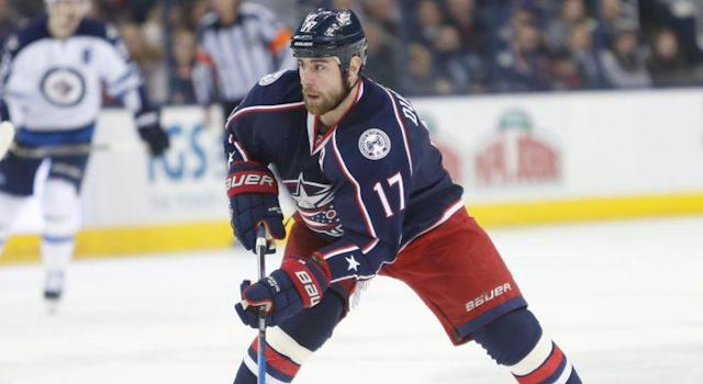 "<a class=""link rapid-noclick-resp"" href=""/nhl/teams/cob/"" data-ylk=""slk:Columbus Blue Jackets"">Columbus Blue Jackets</a> forward <a class=""link rapid-noclick-resp"" href=""/nhl/players/3880/"" data-ylk=""slk:Brandon Dubinsky"">Brandon Dubinsky</a> underwent surgery to repair a wrist injury, but should be ready for training camp. (AP Photo/Jay LaPrete)"
