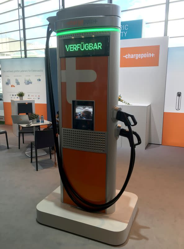 Exclusive: Electric vehicle charge network ChargePoint nears deal to go public - sources