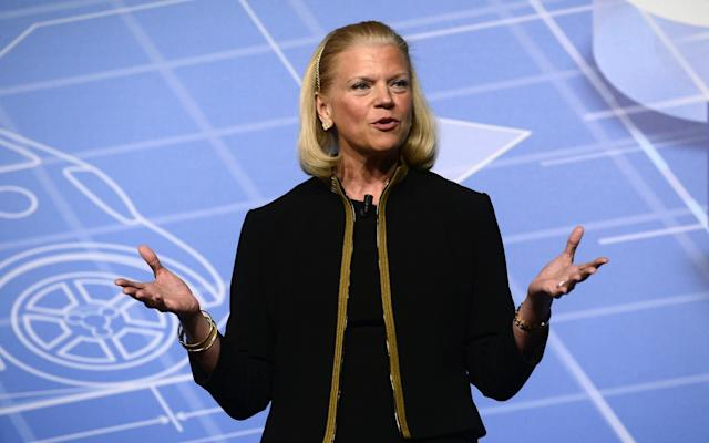 <p>No. 6: CEO Virginia M. Rometty<br>Company: International Business Machines Corp.<br>Compensation: $96,764,750<br>(AP Photo/Manu Fernandez) </p>