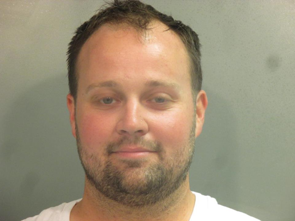 Josh Duggar depicted in a booking photo after his April 29 arrest. (Photo: Washington County Sheriff's Office via Getty Images)