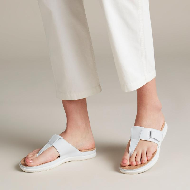 A thong style is a boon for the wide-footed.(Photo: Clarks)