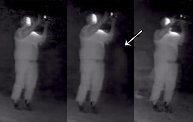 Real paranormal activity. Blink and you'll miss it. Photo: Youtube