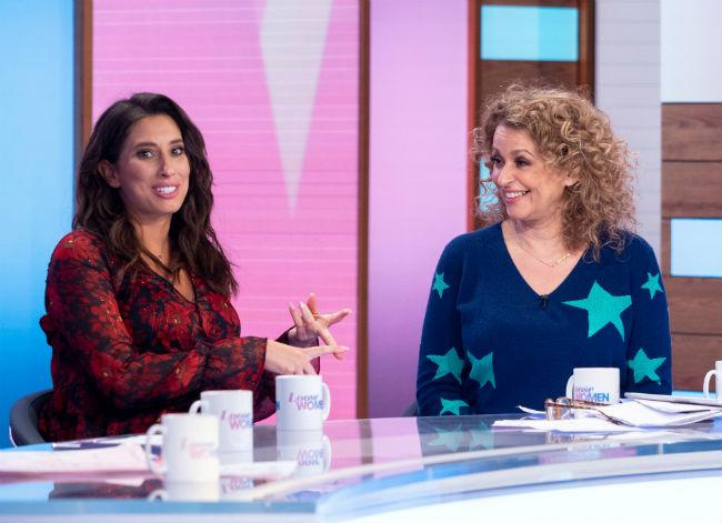 loose-women-nadia-sawalha-stacey-solomon