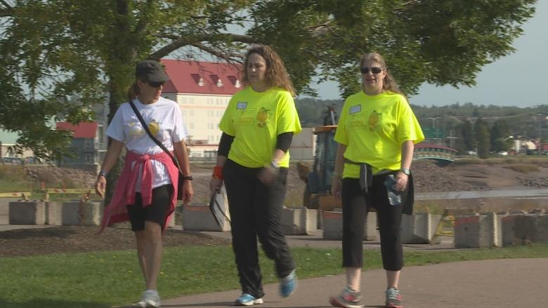 Dieppe woman walks to raise awareness about bladder cancer