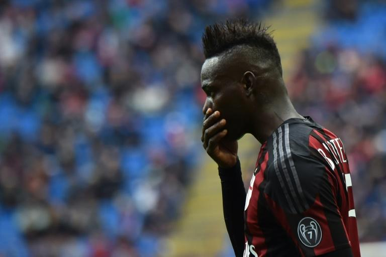 Having spent a mediocre last season on loan at AC Milan, Italian striker Mario Balotelli, pictured on May 1, 2016, was told recently by Liverpool coach Jurgen Klopp to find a new club