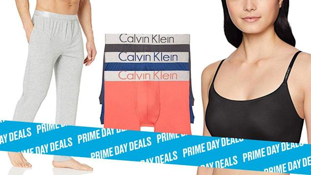 Photo Illustration by Elizabeth Brockway/The Daily Beast * Up to 30% off Calvin Klein clothing * Dozens of styles included for both men and women * Shop the rest of our other Prime Day deal picks here. Not a Prime member yet? Sign up here.Calvin Klein clothing and underwear is some of the most comfortable out there. If you can't wait to get your hands on the classic brand, there's a huge Prime Day deal happening right now. There are so many choices, from underwear to leggings to sweatpants, so you can give your loungewear game an upgrade. | Get it on Amazon > Let Scouted guide you to the best Prime Day deals. Shop Here >Scouted is internet shopping with a pulse. Follow us on Twitter and sign up for our newsletter for even more recommendations and exclusive content. Please note that if you buy something featured in one of our posts, The Daily Beast may collect a share of sales.Read more at The Daily Beast.Get our top stories in your inbox every day. Sign up now!Daily Beast Membership: Beast Inside goes deeper on the stories that matter to you. Learn more.