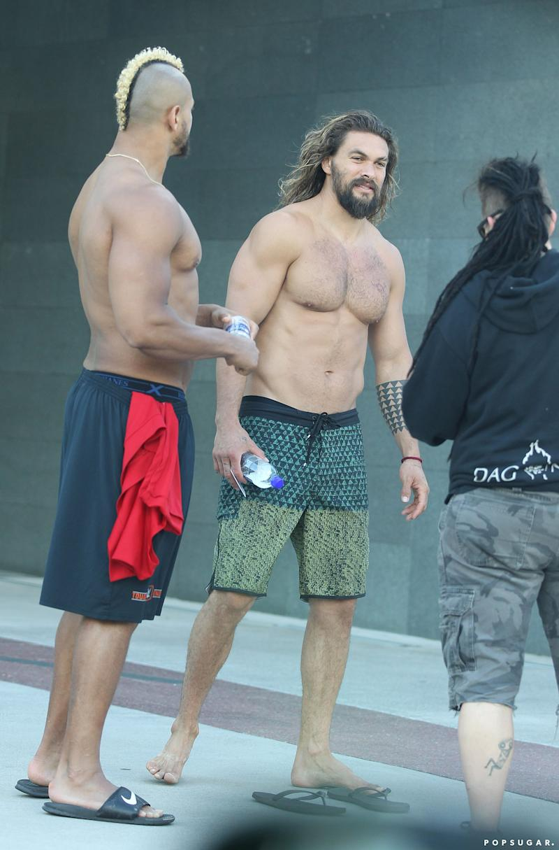 Jason Momoa Might Be Playing Aquaman, but This Photo of Him Is Pure Fire