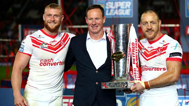 St Helens had done everything but win a major final under Justin Holbrook and the coach was delighted to break that duck at Old Trafford.