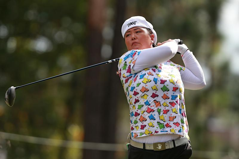 Christina Kim at Q School. (Getty)