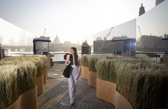 Oat-drink JÖRĐ brings the space and ever changing Nordic nature to some of the UK's busiest city spots as 91 per cent of us yearn for the calm of the great outdoors as city life takes over again
