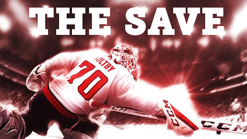 Braden Holtby's 'The Save' named best of the decade