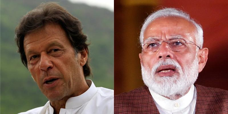 pakistan india imran khan modi