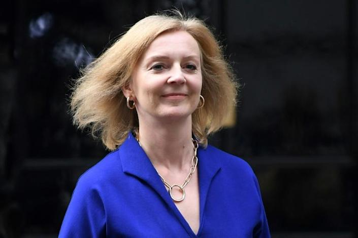 Liz Truss is only the second female foreign secretary in British history (AFP/DANIEL LEAL-OLIVAS)