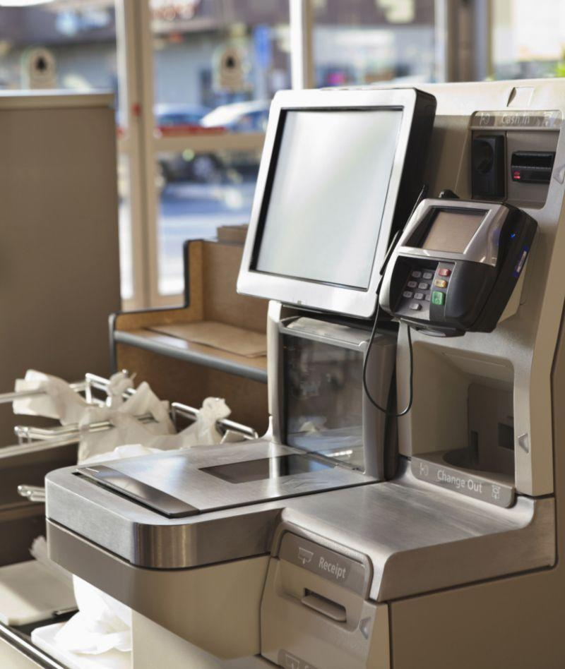 <p><b>1. Self-Checkout Computer Screens</b></p><p>Self-checkout computer screens are supposed to make your life easier, right? Think again. Although they may expedite your wait in line, its probably time to reconsider how you pay. Dr. Charles Gerba, a professor of microbiology at University of Arizona in Tucson, found that about 65% of all screens have fecal bacteria on them, with some even showing evidence of E. coli and MRSA. It's enough to make us want to wait in line.</p><p><i>(Photo: Getty)</i><br /></p>