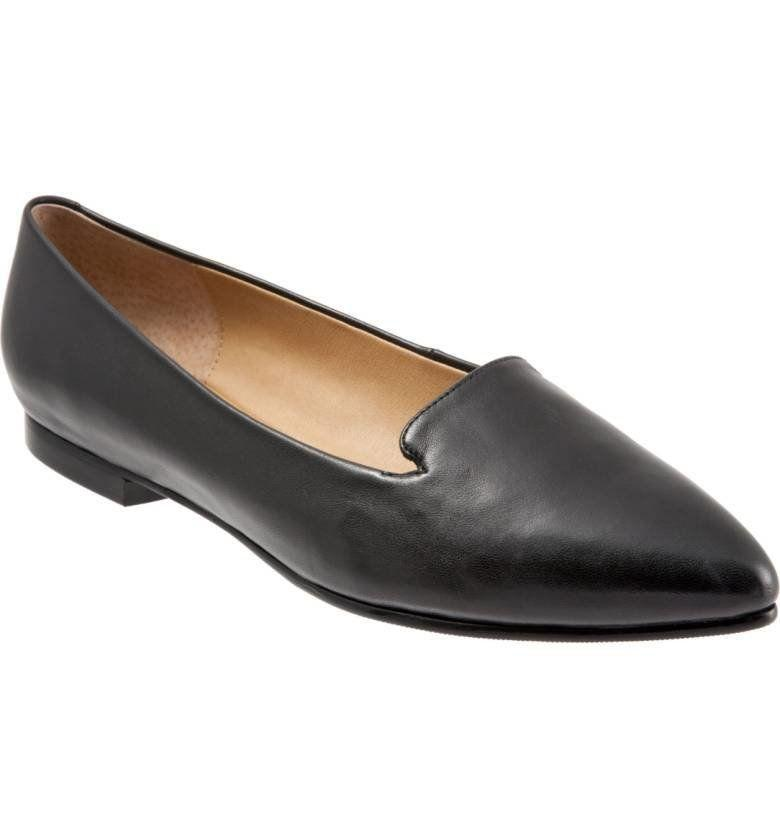 "<a href=""http://shop.nordstrom.com/s/trotters-harlowe-pointy-toe-loafer-women/4532802?origin=category-personalizedsort&fashioncolor=BLACK%20LEATHER"" target=""_blank"">Shop them here</a>."