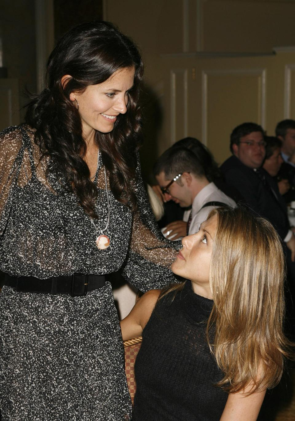 <p>Once again supporting David Arquette, Jennifer joined Courteney at a gala in 2006. <em>[Photo: Getty]</em> </p>