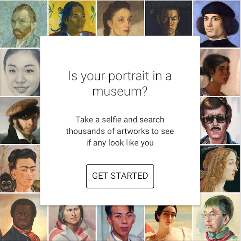 You Can't Use Google's New Selfie Art App in These States