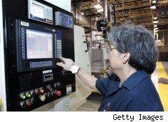 U.S. GDP Factory worker in GM Plant