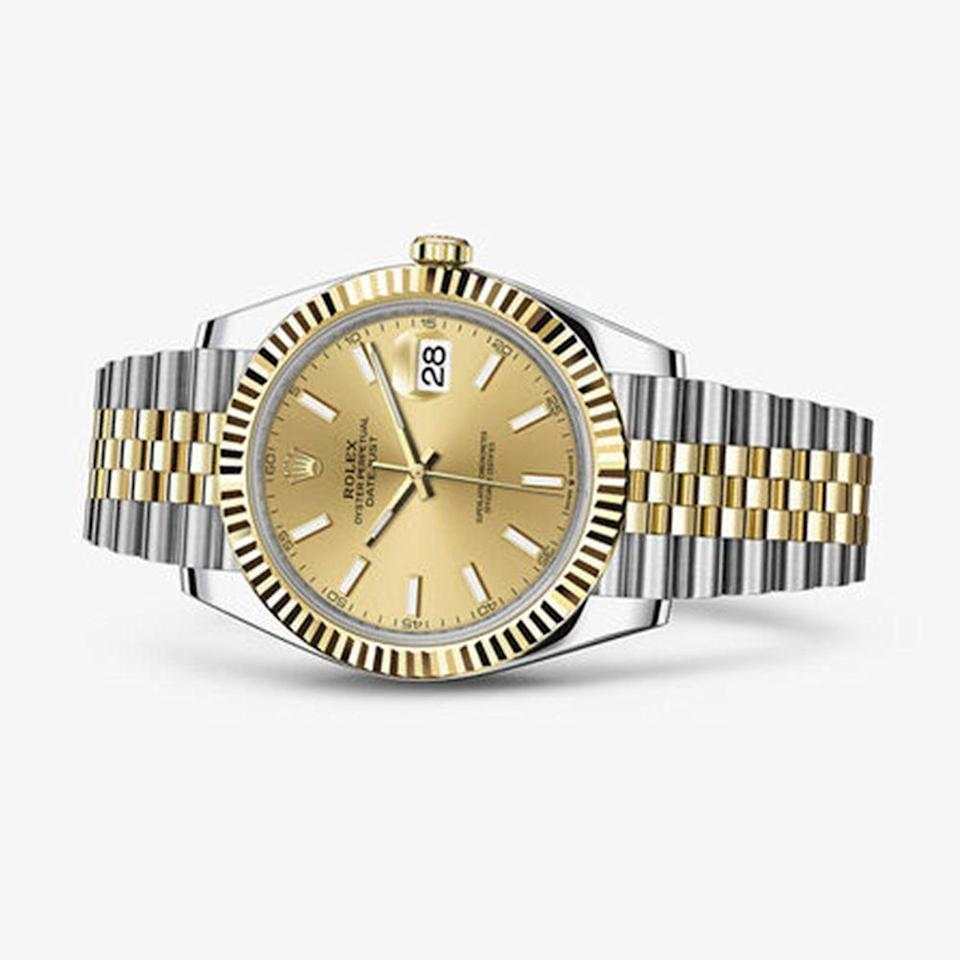 "<p><a class=""link rapid-noclick-resp"" href=""https://www.tourneau.com/watches/rolex/datejust-41-m126333z0010.html"" rel=""nofollow noopener"" target=""_blank"" data-ylk=""slk:BUY IT HERE"">BUY IT HERE</a></p><p>Arguably the most well-known watch brand, Rolex is synonymous with the industry for a reason: they make high-quality pieces that last forever, and in some cases even appreciate in value over time. Their classic bracelet-style watches remain at the heart of the brand, like this Datejust option that feels modern, yet steeped in nostalgia. While they offer a variety of styles from evening to sporty, the all-metal options are the ones that you can wear anywhere and everywhere. </p>"