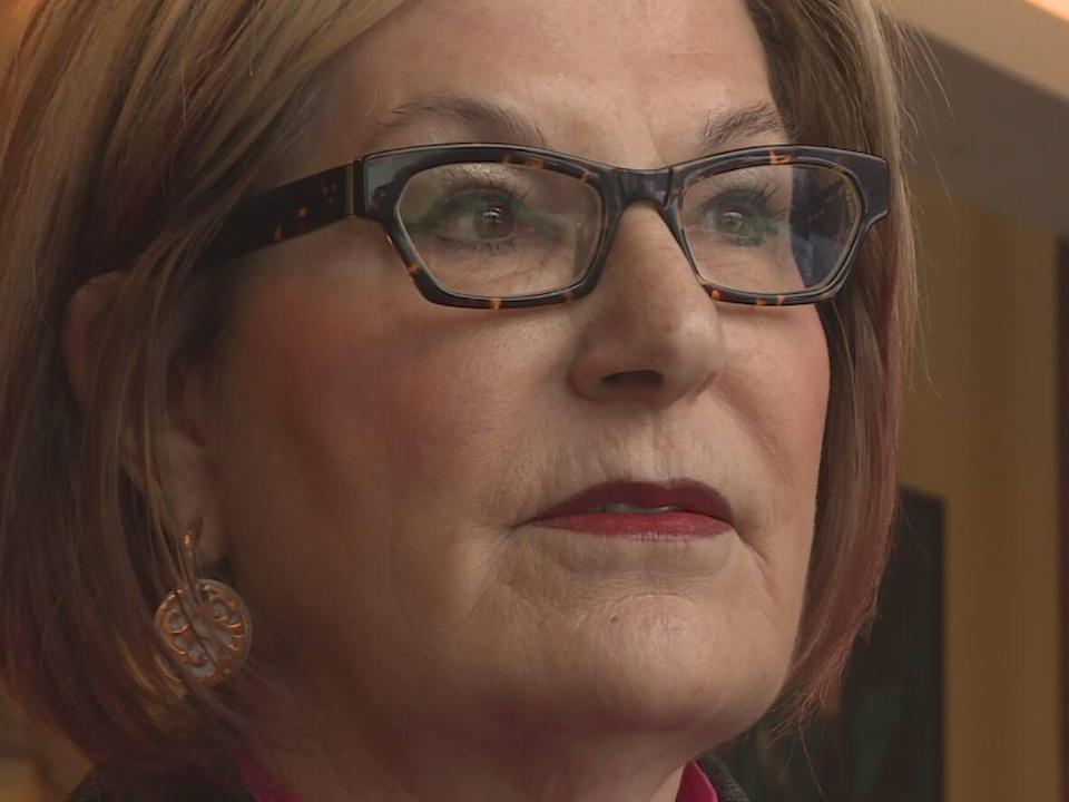 Speaking at the public inquiry into ground search and rescue, Louise Bradley, former president and CEO of the Mental Health Commission of Canada, said mental health training for those involved in search and rescue operations needs to be more robust. (Laurie Trudel/Radio-Canada - image credit)