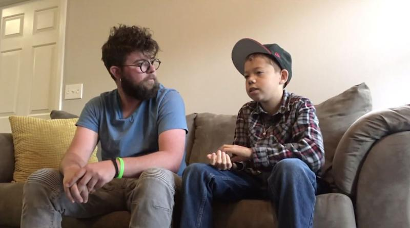 Finn Lanning plans to adopt his 13-year-old student, Damien — but first, he hopes to see him through the experience getting a kidney transplant. (Photo: Courtesy of FOX31)