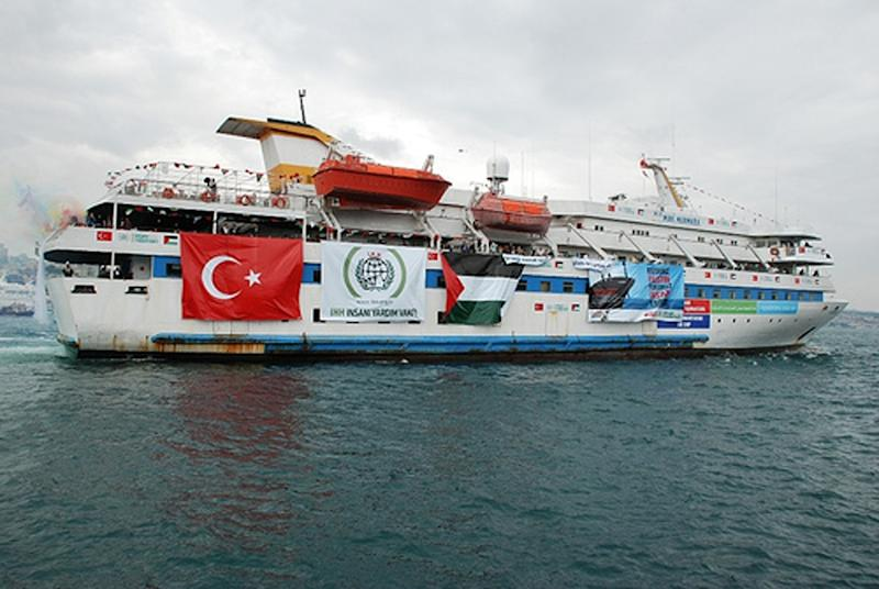 In May 2010, ten Turkish activists were killed when Israeli commandos raided the Mavi Marmara ship which was part of the Free Gaza flotilla (AFP Photo/)