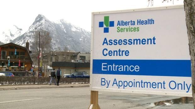 Banff currently has the second-highest active COVID-19 case rate in Alberta, with 1,070.5 cases per 100,000 people. (Helen Pike/CBC - image credit)