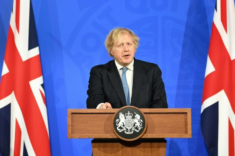 Johnson joked that he would enjoy the freedom to drink in pubs