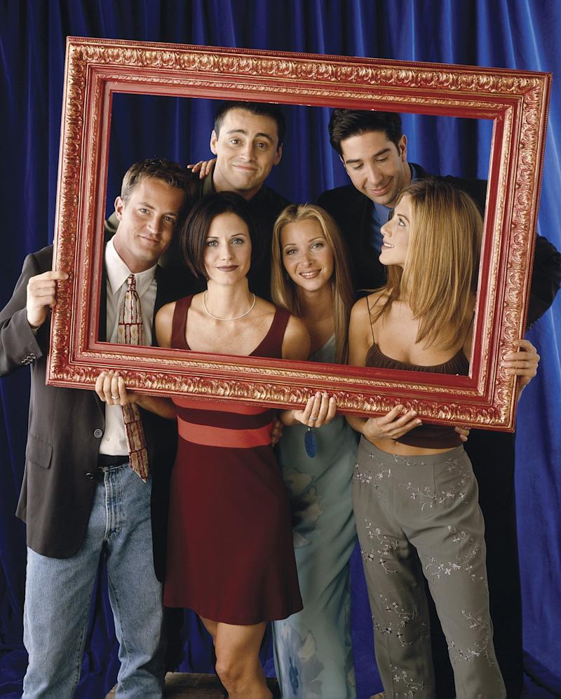 The cast of Friends at the height of the show's success (Photo: NBC via Getty Images)
