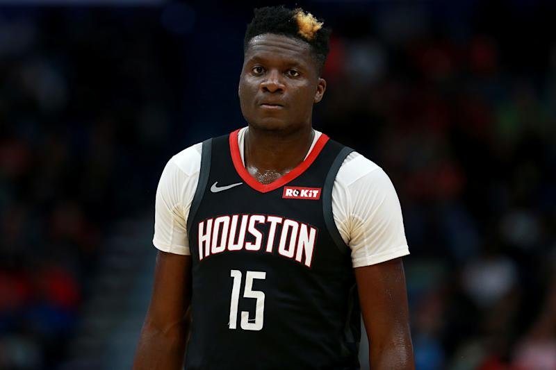 Clint Capela #15 of the Houston Rockets