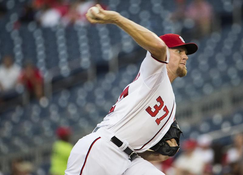 Nationals win 8th straight, beat Diamondbacks 8-1