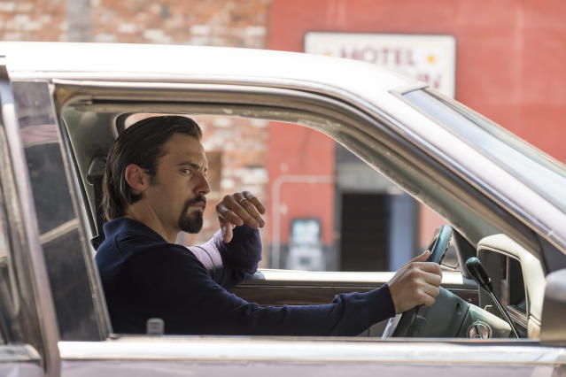 Milo Ventimiglia as Jack Peason in NBC's <i>This Is Us</i>. (Photo: Ron Batzdorff/NBC)