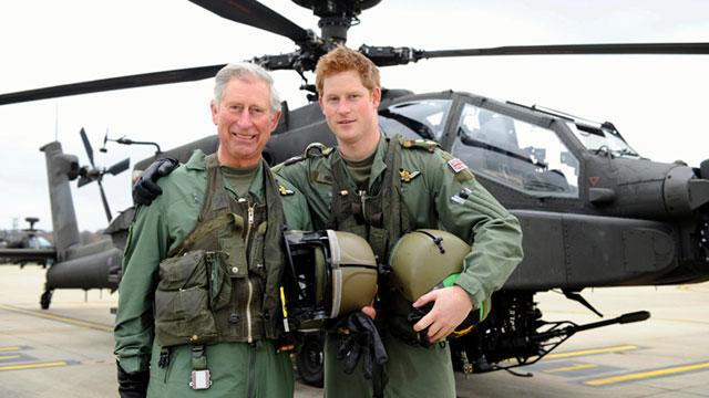 Prince Charles Worries 'All the Time' About Military Sons
