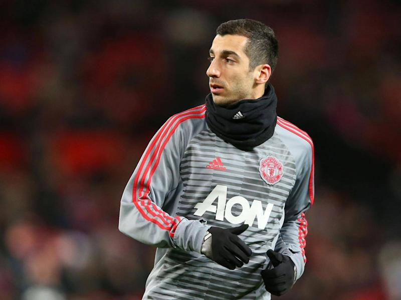 Henrikh Mkhitaryan looks set to leave Old Trafford after falling out of favour (Getty)