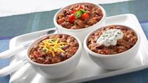 """<p>You can score with this chili recipe. It has only six ingredients and takes less than 30 minutes to make, meaning you can have it on your dinner table in no time. </p> <p><a href=""""https://www.thedailymeal.com/recipes/touchdown-chili?referrer=yahoo&category=beauty_food&include_utm=1&utm_medium=referral&utm_source=yahoo&utm_campaign=feed"""" rel=""""nofollow noopener"""" target=""""_blank"""" data-ylk=""""slk:For the Touchdown Chili recipe, click here"""" class=""""link rapid-noclick-resp"""">For the Touchdown Chili recipe, click here</a>.</p>"""