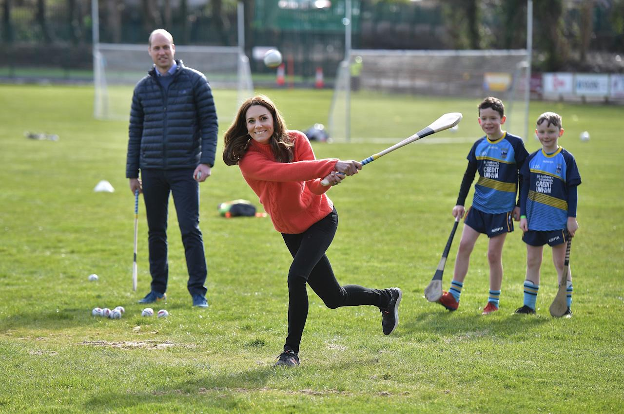 """<p>Prince William and Catherine, Duchess of Cambridge, are currently visiting Ireland for a <a href=""""https://www.harpersbazaar.com/celebrity/latest/a31076010/prince-william-kate-middleton-visit-ireland-during-sussexes-return/"""" target=""""_blank"""">three-day royal tour</a>, which will highlight the country's cultural connections to the United Kingdom and take them through Dublin, County Meath, County Kildare, and Galway. The duke and duchess are expected to meet with locals and learn about the nation's ongoing sustainability efforts. Scroll through for every photo from their jaunt to the Emerald Isle.</p>"""