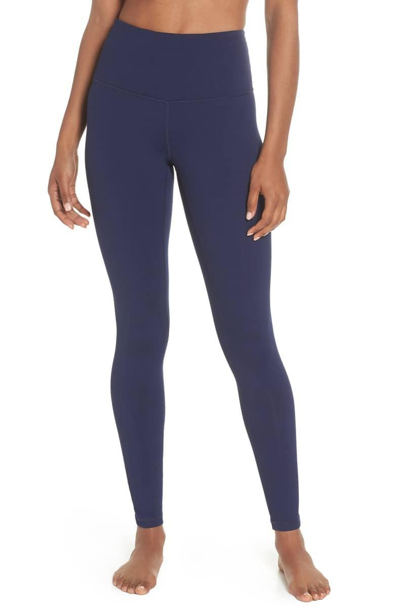 <p>These <span>Zella Live In High Waist Leggings</span> ($54) have thousands of positive reviews, and for good reason. They're sleek and comfortable, our everyday go-to for any activity. High-waisted, stretchy, and thick, they meet every criteria we have.</p>