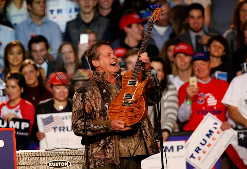 NRA Board Member Ted Nugent Calls Parkland Survivors 'Liars' And ' ...