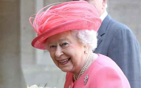 The Queen officially started the marathon - Credit: WPA Pool/Getty Images