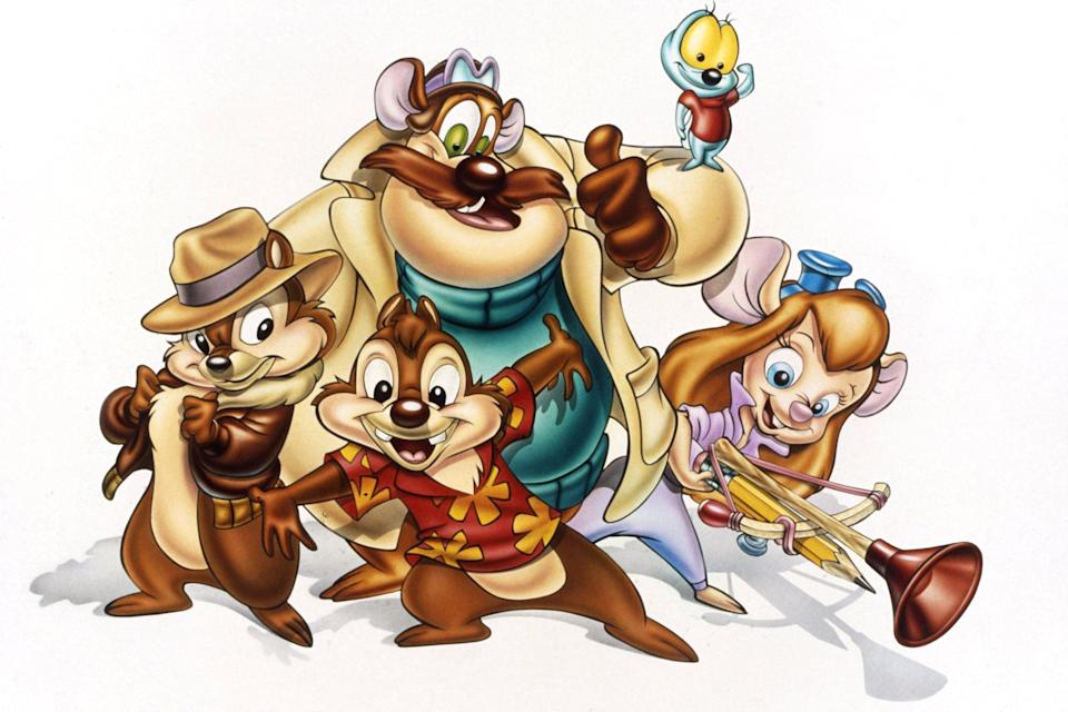 <p>The mouse with the mostest from <strong>Rescue Rangers</strong> just requires ears, goggles, a blond wig, and a jumpsuit.</p>