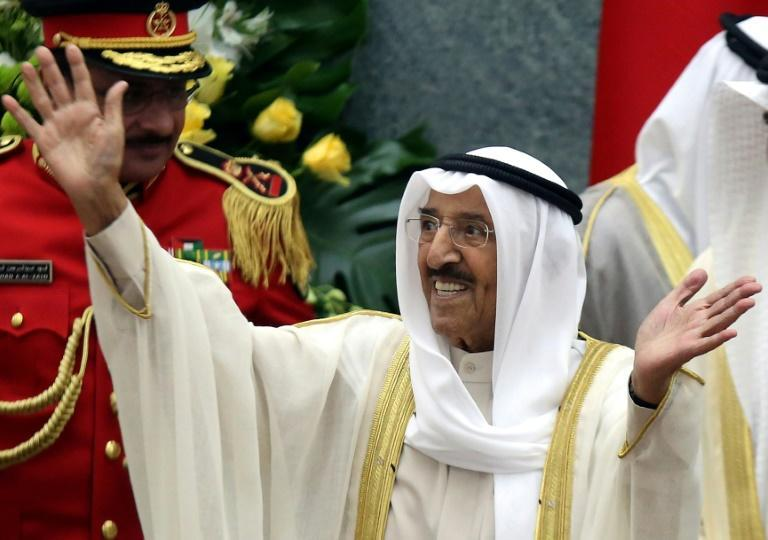 The Emir of Kuwait, who has ruled the oil-rich Gulf state since 2006, had been in hospital since the weekend