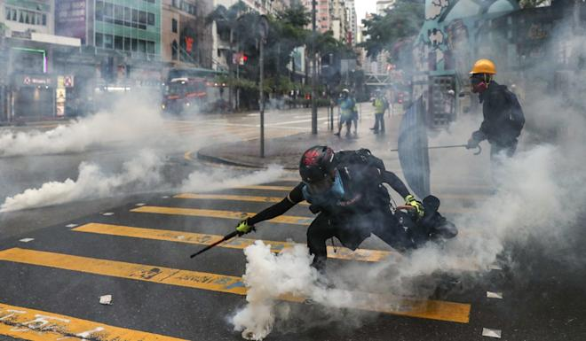 Hong Kong has witnessed increasingly violent anti-government protests, which were initially sparked by opposition to a now-withdrawn extradition bill. Photo: Sam Tsang