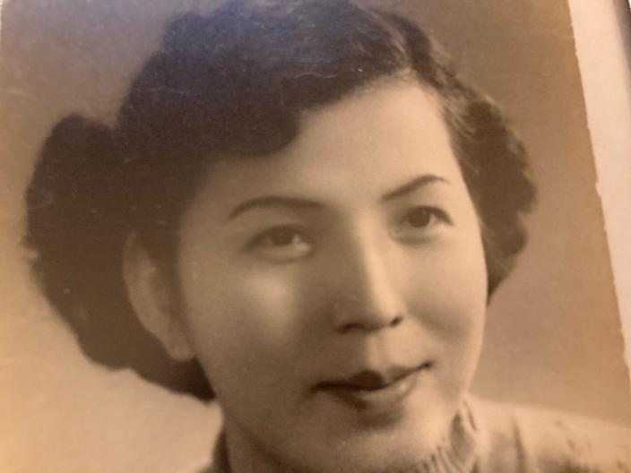 Writer Mary Chao's mother Pao Yin Chao in Shanghai, China.
