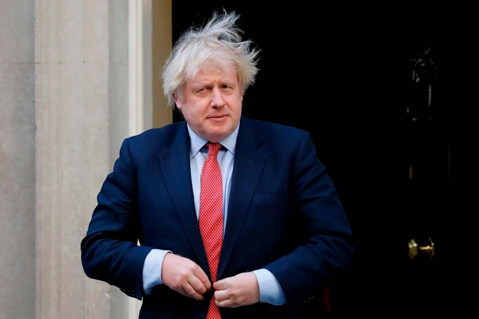 """Sir Keir told Prime Minister Boris Johnson to """"get a grip"""". (AFP via Getty Images)"""