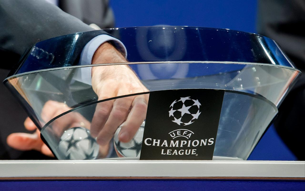 What is it? The draw for this year's Champions League group stages. When is it? It takes place on Thursday, August 24, at the Grimaldi Forum in Monaco. What time does it happen? 5pm BST. What TV channel is it on? The draw is on BT Sport 2 or via live stream on Uefa.com. What are the teams involved? * denotes favourites to qualify from the play-off rounds after first-leg results Potential Champions League pots Which pots are the British teams in? Chelsea, as champions of England, are the only side in Pot 1. Manchester City and Manchester United will be in a strong-looking Pot 2. Tottenham are probably in Pot 3, as their co-efficient ranking is lower than Europa League-winners United. Liverpool will also enter Pot 3, while Celtic look most likely to be in Pot 4. Real Madrid's homecoming Champions League celebrations in pictures How does the draw work? The draw consists of 32 teams, made up of 22 automatic qualifiers and 10 via the play-offs. Those teams are divided into four pots and then drawn into eight different groups – with one team from each pot. No team can draw another from their own country or from the same pot. Pot 1 comprises of the current holders (Real Madrid) and the champions of the other top eight leagues in Europe. Therefore, Pot 1 will have Real Madrid, Bayern Munich, Juventus, Benfica, Chelsea, Shakhtar Donetsk, Monaco and Spartak Moscow. When will the matches be played? The group stage games will be split into six match days with games to be played on Tuesday and Wednesday nights. 12-13 September 26-27 September 17-18 October 31 October-1 November 21-22 November 5-6 December The 100 greatest Champions League moments What are the best odds (to win outright)? Real Madrid 9/2 Barcelona 6/1 Bayern Munich 13/2 Paris St-Germain 8/1 Manchester City 12/1 Manchester United 14/1 Juventus 14/1 Chelsea 16/1 Atletico Madrid 16/1 Liverpool 30/1 Borussia Dortmund 33/1 Tottenham 35/1 Celtic 500/1