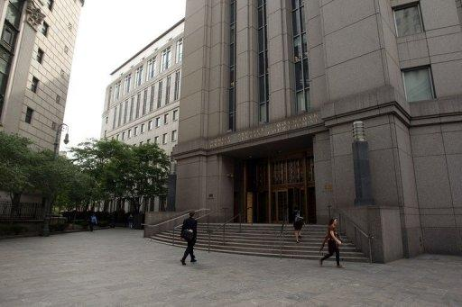 This file photo shows the building where the US Second Circuit Court of Appeals resides, in New York