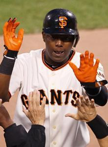 Edgar Renteria and the Giants made AT&T Park the Rangers' haunted house in Games 1 and 2 of the World Series
