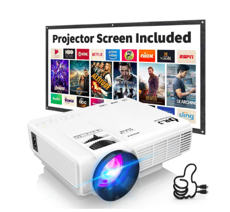 Dr. J Mini Full HD Video Projector (Photo via Best Buy)