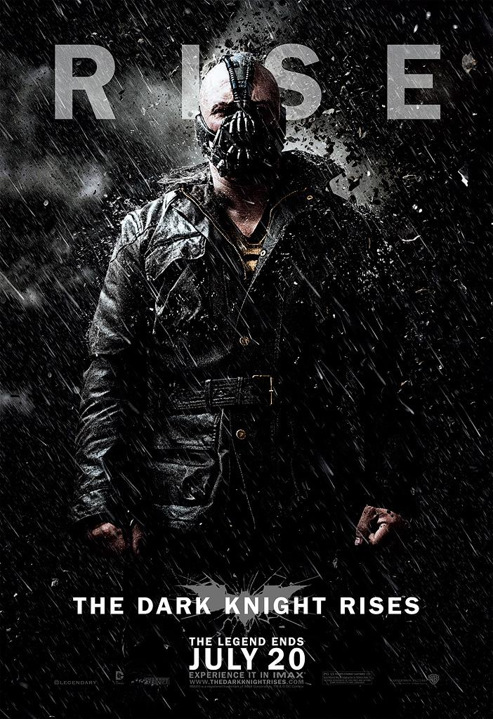 """Here is Tom Hardy as Bane, Batman's intimidating nemesis in the film. Costume designer Lindy Hemming told <a href=""""http://www.gq-magazine.co.uk/entertainment/articles/2012-03/06/the-dark-knight-rises-costume-design"""" rel=""""nofollow noopener"""" target=""""_blank"""" data-ylk=""""slk:British GQ"""" class=""""link rapid-noclick-resp"""">British GQ</a> that Bane's signature jacket took her a year to design and construct. She said, """"Bane was meant to look like a cross between a dictator and a revolutionary."""" Christopher Nolan also revealed that the mask that Bane wears is meant to deliver a pain-relieving anesthetic. He explained, """"Bane is ravaged by pain from a trauma suffered long ago."""""""
