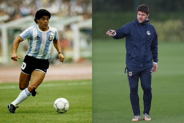 Pochettino and Maradona